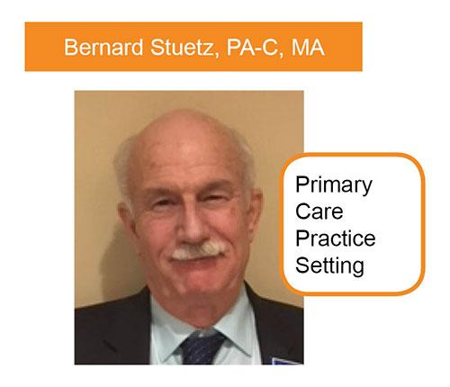 Bernard Steutz, PA-C, MA, Primary Care Practice Setting