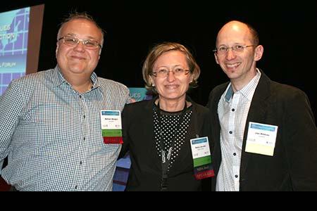Adrian Abagiu, Romania; Petra Jacobs, NIDA Clinical Trials Network; Jan Klimas, Canada