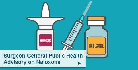 Surgeon General public health advisory on naloxone