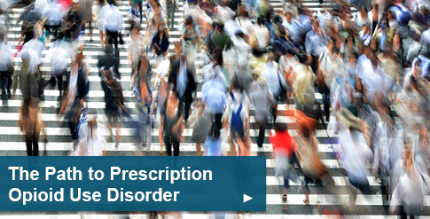 The complex path towards prescription opioid use disorder